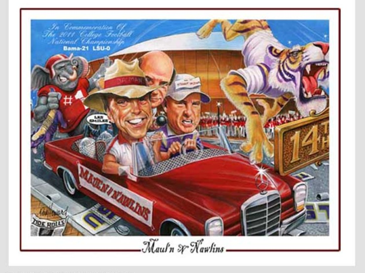 Don Howard Alabama Sports Poster