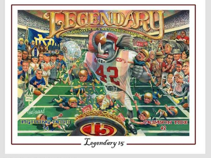 Legendary Don Howard Sports Poster