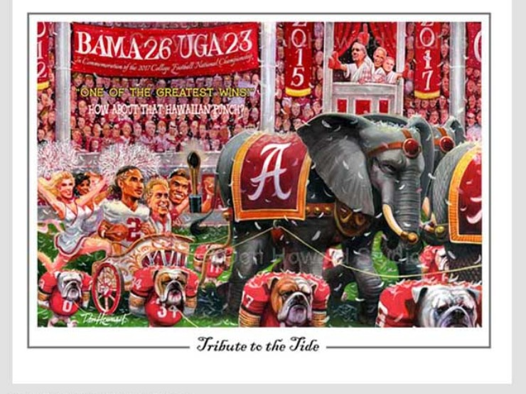 Don Howard's Tribute to the Tide
