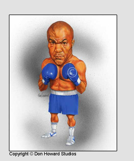 George Foreman 8x10 Color Print