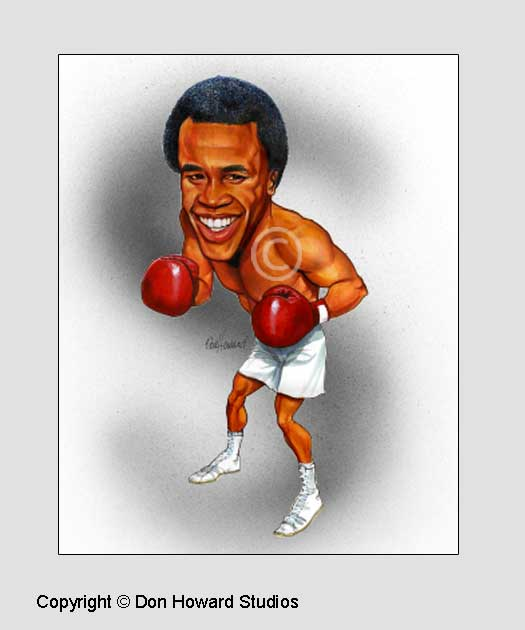 Ray Leonard 8x10 Color Print