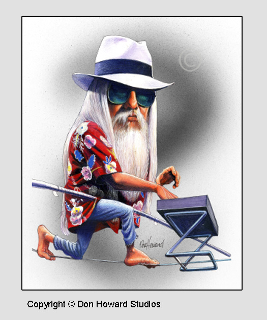 Leon Russell Print