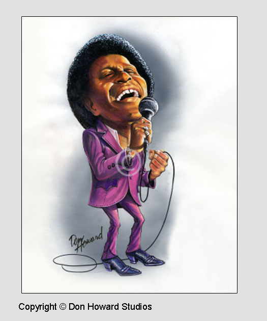 Charley Pride Art Poster