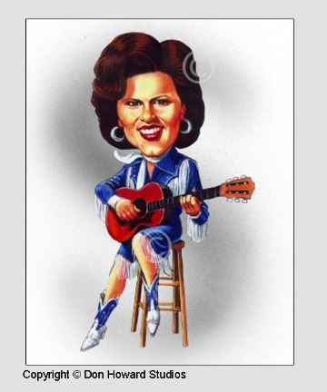 Patsy Cline Art Poster