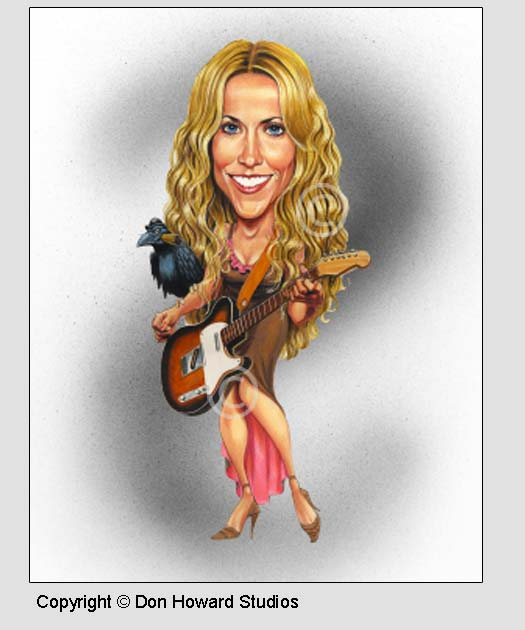 Sheryl Crow Poster