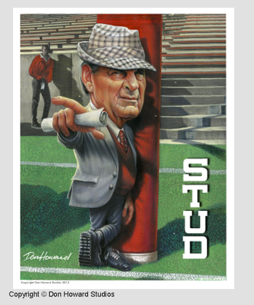 Coach Paul Bear Bryant
