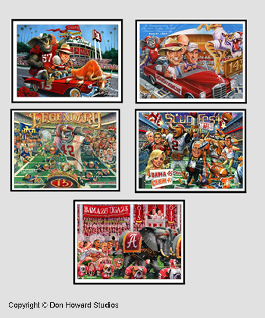 Alabama MINI Championship Posters